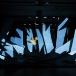 Svärdfisken av Damien MillarRiksteatern 2018Regi: Daniel RylanderScenografi och kostym: Anna DolataMedverkande: Anna Wadström, Ulf Montan